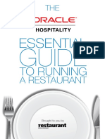 Oracle Hospitality Essential Guide