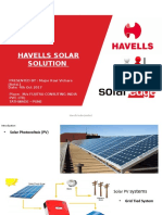 1. Havells SolarEdge Presentation