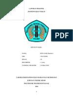Laporan Praktek  Pengujian Tekan RWS Kelik Kuntarso
