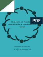 Encuentro de Psicologi a, Comunicacio n y Transformacio n Social (1)