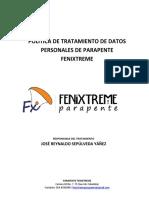 Politica de Tratamiento de La Informacion Fenixtreme