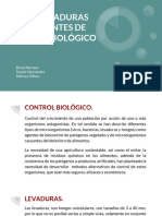 Uso de Levaduras Como Agentes de Control Biologico