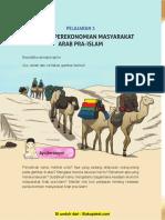 Pelajaran 2 Keadaan Perekonomian Masyarakat Arab Pra Islam