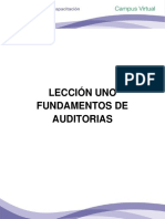 Lección 1 Fundamentos de Auditorias
