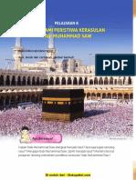 Pelajaran 8 Memahami Peristiwa Kerasulan Nabi Muhammad SAW