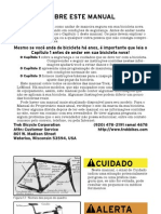 Bike Operation Manual (Portugês 2003) - Trek Bicycle Corporation