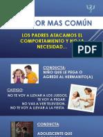 CHARLA 1 - EL ERROR MAS COMUN.pptx
