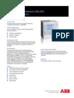1MRG001677 D en SE - SEP652 Line Distance Protection REL650