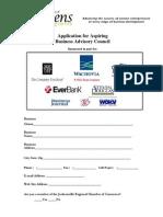 Application for Aspiring BAC 2010-2011
