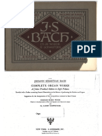 Bach - Organ works - Volume 3