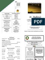 St Andrews Bulletin 1217