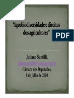 JULIANA SANTILLI Agrobiodiversidade e Direitos Dos Agricultores