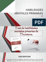 HABILIDADES MENTALES PRIMARIAS