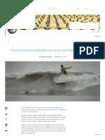 Fotos Mostram Quase Ataque de Tubarão Em Surfista de Matinhos