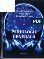 Psihologie Generala - Olga Moldovan, Sonia Ignat, Dana Balas Timar