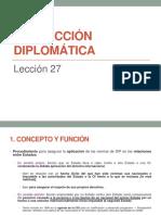 Dip - Protección Diplomática