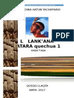 Unidad III Quechua i (1)