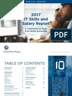 2017 Global Knowledge Salary Report