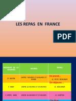 Les Repas en France Dictionnaire Visuel 84743
