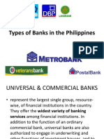 Types of Banks in the Philippines