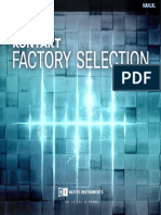 Kontakt Factory Selection Manual English