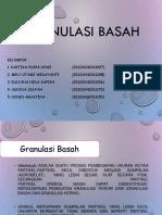 GRANULASI BASAH