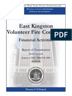 East Kingston Fire Company Audit