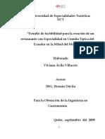 CREACION DE RESTAURANTE DE COMIDA TIPICA ECUADOR EN LA MITAD DEL MUNDO.pdf