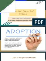 adoption council of ontario