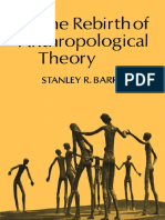 BARRETT, Stanley R. - The Rebirth of Anthropological Theory
