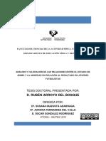 Arroyo Del Bosque, R_Analisis y Valoracion de Las Relaciones Entre El Estado de Animo y La Ansiedad