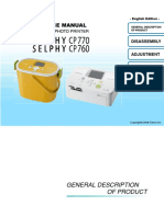 Canon SELPHY CP760-770 Service Manual