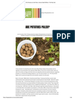 Why Potatoes Are Not Paleo_ Adverse Health Effects _ the Paleo Diet