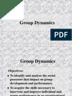 Droup Dynamics