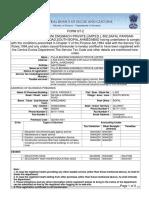 Service Tax Registration St-2