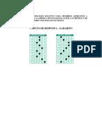Folha de Resposta - Gabarito (III Ps)