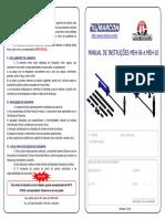 Manual Esticador Hidraulico de 10 Toneladas Meh10 Marcon 11 Pecas