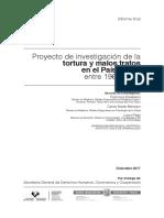 INFORME FINAL Proyecto de investigación de la tortura y malos tratos en el País Vasco entre 1960-2014