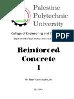 Reinforced Concrete I Palestine