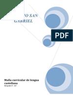 Malla Curricular de Lengua Castellana