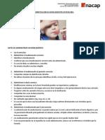 Administracion de Medicamentos via Oral