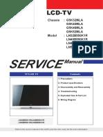 Samsung Ln32b550k1r Chasis g5k32mla