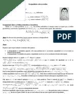 Desigualdades Entre as Médias e a Universidade Federal Do Ceará