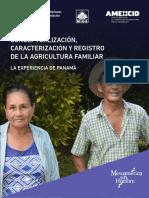 Conceptualización, Caracterización y Registro de La Agricultura Familiar