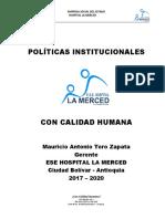 1. POLITICAS INSTITUCIONALES