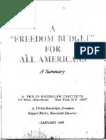 Freedom Budget 1967