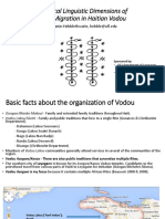 Historical Linguistic Dimensions of Spirit Migration in Haitian Vodou