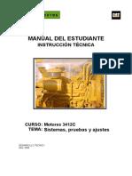 Manual Del Estudiante Motores 3412C