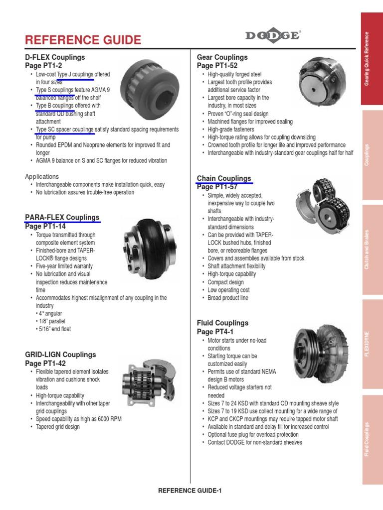 DODGE 011109 PX90 para-Flex Element
