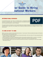 Employer Guide Hiring International Workers